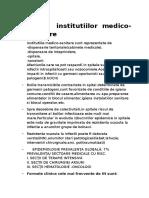 Igiena Institutiilor Medico-sanitare