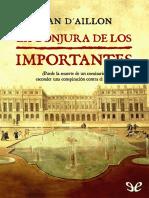 Aillon, Jean d - [Louis de Fronsac 3] La Conjura de Los Importantes [19770] (r1.1)