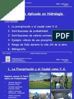 Clase 1.2 Estadística en Hidrología 2013