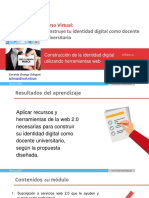 CONSTRUCCIÓN DE LA IDENTIDAD DIGITAL UTILIZANDO HERRAMIENTAS WEB