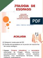 1ra CLASE Esofago