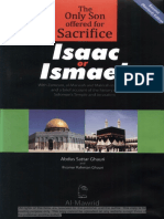 28 the Only Son Offered for Sacrifice Isaac or Ismael