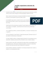 Reflexologia Auxilia Organismo Através de Estimulos Nos Pés