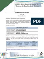 Actividad de Aprendizaje Unidad 1-La Normalizacion de Una Organizacion (1)