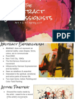the  abstract expressionists