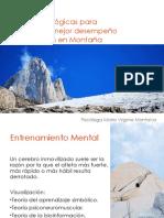 Técnicas Psicológicas Para Montaña