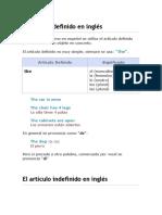Artículos en Ingles