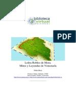 Mitos y Leyendas de Venezuela - Lolita Robles de Mora