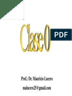 Clase 0 QG Usach