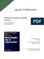 Enguita_sociologia de La Educacion
