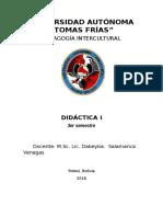Didactica I