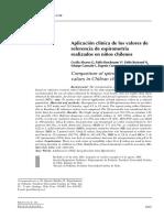 Art07 Aplicación Clínica de Los Valores de REF ESPIROM NIÑO CHILE 2004