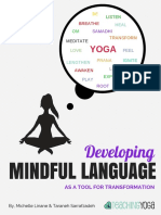 Developing Mindful Language Yoga