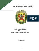 Plan Estrategico DIRBIE PNP 2020