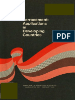 PNAAA595 - Ferrocement - Applications in Developing Countries - USAID