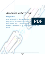 Amarres eléctricos práctica