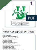 Marco Conceptual de Los Costos