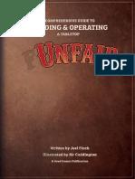 Unfair the Boardgame Rulebook
