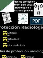 Medidas de protección y control para ondas Radiológica y electromagnéticas