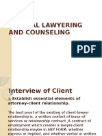 Clinical Lawyering and Counseling Final