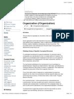 History Schmistory Organization