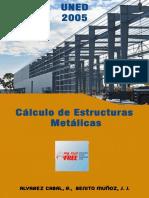 Portada CivilFree - Cálculo de Estructuras Metálicas, UNED 2005.