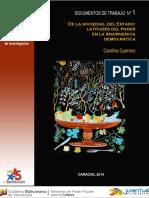 1. Documento N° 1 Carolina Guerrero. de la sociedad, del estado, latitudes del poder en la insurgencia democrática.pdf