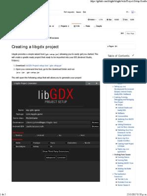 Libgdx Wiki | Eclipse (Software) | 2 D Computer Graphics