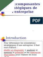 CH1 Composantes Stratégique de L_entreprise ( Étude de Cas)