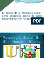 Psicología Social en El Nuevo Milenio