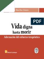 Maria Martha Cuneo Vida Digna Hasta Morir