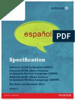 UG033594 GCSE Lin Spanish Issue 5 Print