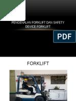 4. Pengenalan Forklift Dan Safety Device Forklift