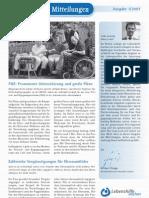 Lebenshilfe Mitteilungen - Ausgabe Januar 2007
