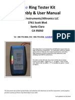 Inductance checker      ARTestManual