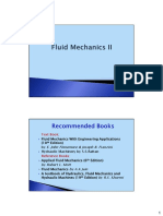Fluid Mechanics- 2 (Civil Engineering)