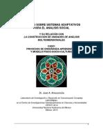 AMOZURRUTIA Apuntes Sobre Sistemas Adaptativos