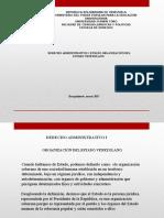 Ensayo Organización Del Estado Venezolano