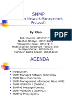 SNMP Presenation by Xian
