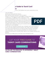 The Ultimate Guide to Tarot Card Combinations