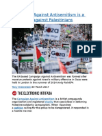 Campaign Against Antisemitism is a campaign against Palestinians.docx
