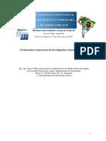 Evaluaciones en proyectos de investigación y desarrollo (I+D)