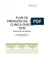 Plan de Emergencias Para Clinica Dental Zen