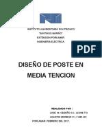 Diseño de Poste
