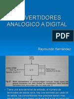 Convertidores Analogico a Digital