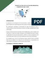 Fundamentos y Concepto Actual de La Actuación Preventiva y Terapéutica Del Flúor Word
