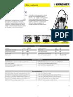Aspiratore solidi-liquidi Karcher NT 70-2 Me Tc