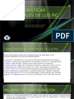 Caracteristicas de microcontroladores PIC