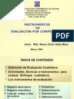 17265850-INSTRUMENTOS-DE-EVALUACION-POR-COMPETENCIAS-v-29-05-2009.ppt
