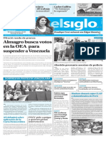 Edición Impresa Elsiglo 21-03-2017